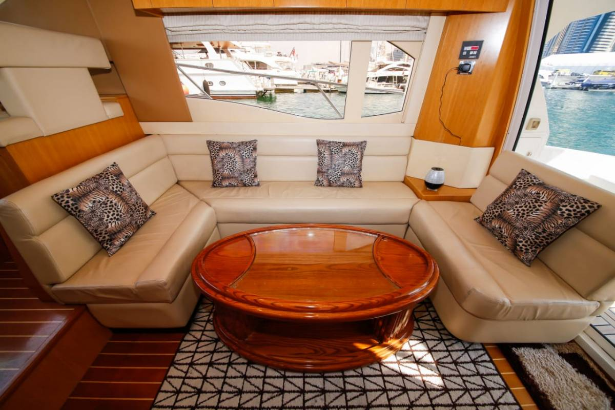 44ft yacht hire
